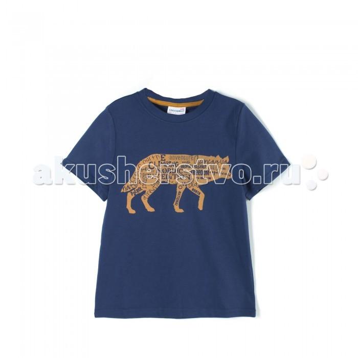 Детская одежда , Футболки и топы Coccodrillo Футболка для мальчика Nordic Expedition J17143201NOR-015 арт: 408049 -  Футболки и топы