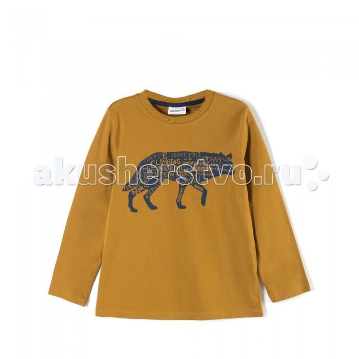 Детская одежда , Футболки и топы Coccodrillo Футболка для мальчика Nordic Expedition арт: 408044 -  Футболки и топы