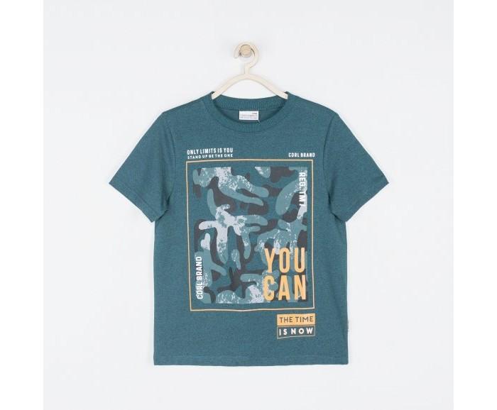 Футболки и топы Coccodrillo Футболка для мальчика Time is on футболки и топы свiтанак футболка для мальчика р108702