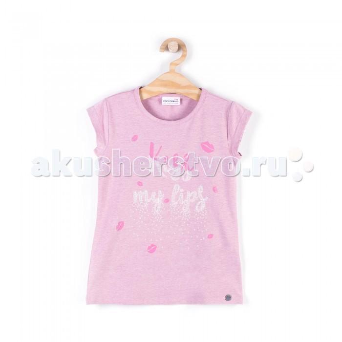 Детская одежда , Футболки и топы Coccodrillo Футболка для девочки Lips арт: 388669 -  Футболки и топы