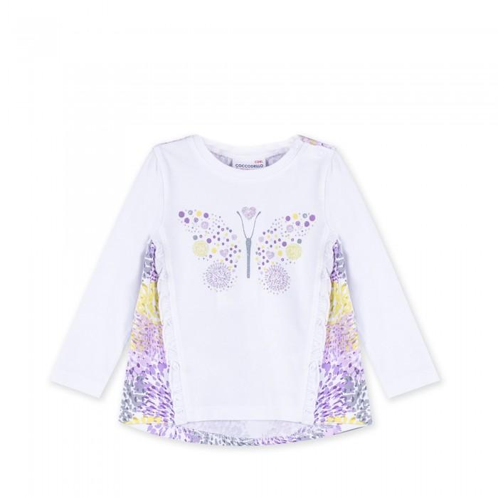 Детская одежда , Водолазки и лонгсливы Coccodrillo Футболка с длинным рукавом Be Sweet арт: 462211 -  Водолазки и лонгсливы