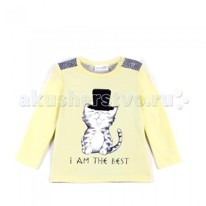 Детская одежда , Водолазки и лонгсливы Coccodrillo Футболка с длинным рукавом Cute Cat арт: 464036 -  Водолазки и лонгсливы