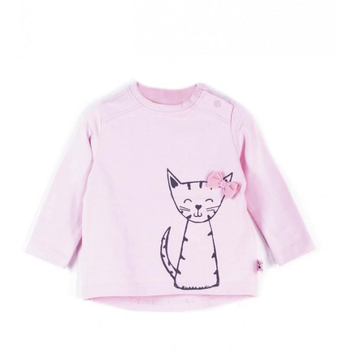Детская одежда , Водолазки и лонгсливы Coccodrillo Футболка с длинным рукавом Meow арт: 466471 -  Водолазки и лонгсливы