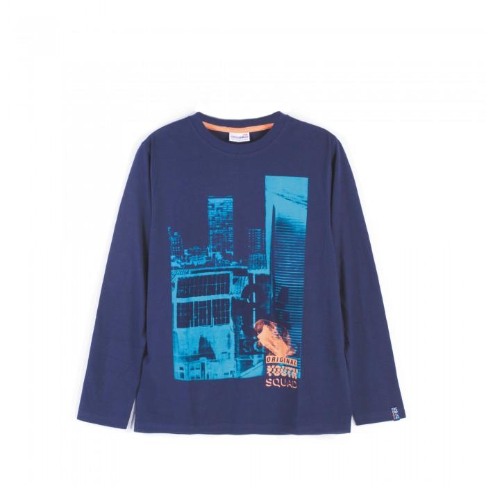 Детская одежда , Водолазки и лонгсливы Coccodrillo Футболка с длинным рукавом Squad 64 арт: 467261 -  Водолазки и лонгсливы