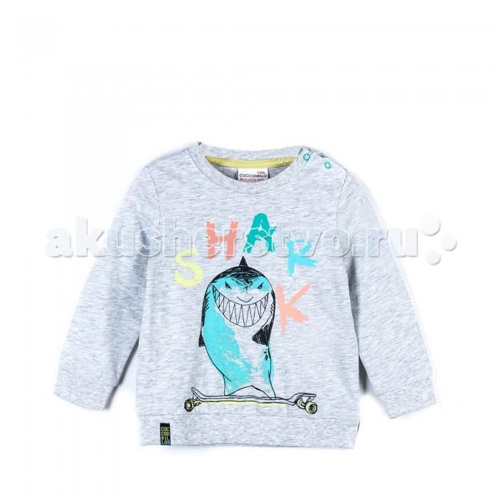 Детская одежда , Водолазки и лонгсливы Coccodrillo Футболка с длинным рукавом Super Fast арт: 471106 -  Водолазки и лонгсливы