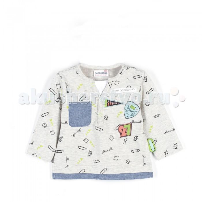 Детская одежда , Водолазки и лонгсливы Coccodrillo Футболка с длинными рукавами Skate Life арт: 466586 -  Водолазки и лонгсливы