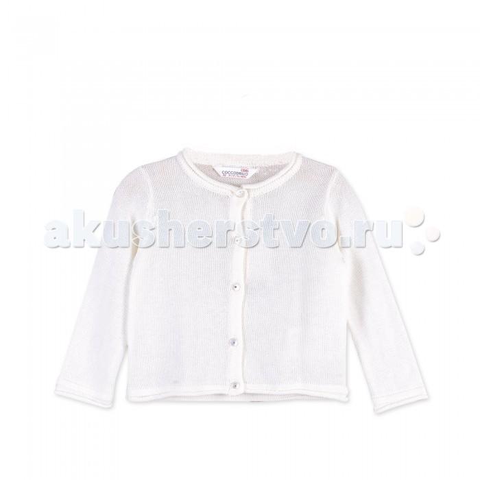 Детская одежда , Кофты и кардиганы Coccodrillo Кардиган для девочки Horses арт: 402459 -  Кофты и кардиганы