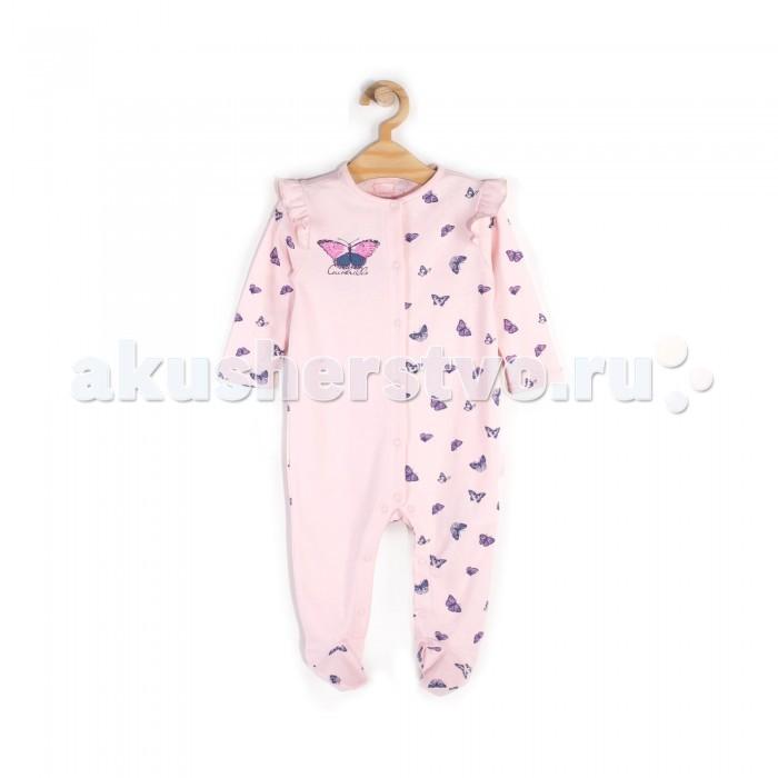 Детская одежда , Комбинезоны и полукомбинезоны Coccodrillo Комбинезон Butterfly W18404101BUT арт: 540286 -  Комбинезоны и полукомбинезоны