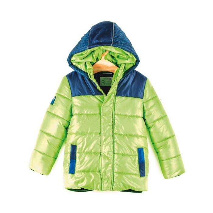 Coccodrillo Куртка для мальчика SpaceКуртка для мальчика Space&#8203;Coccodrillo Куртка для мальчика Space стеганая куртка с капюшоном дополнена подкладкой.   Фронтальная застежка на молнию и кнопки, а также двумя кармашками по бокам. Эластичные манжеты на рукавах препятствуют попаданию внутрь холодного воздуха.  Состав: 100% полиэстер Уход за изделием: автомат до 40%<br>
