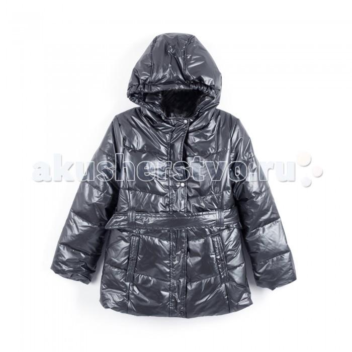 Coccodrillo Куртка Find MeКуртка Find Me&#8203;Coccodrillo Куртка Find Me зимняя стеганая для девочек.   Имеет капюшон с эластичными краями, удобный пояс по талии и два боковых кармана. Застежка-молния скрыта под планкой с кнопками.  Состав: 100% полиэстер Уход за изделием: автомат до 40%<br>