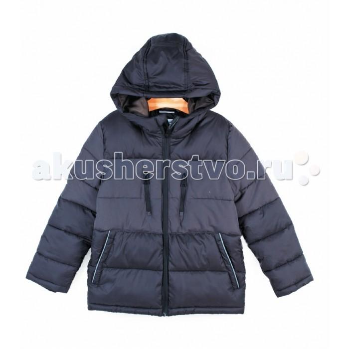 Coccodrillo Куртка стеганая для мальчика NoiseКуртка стеганая для мальчика Noise&#8203;Coccodrillo Куртка стеганая для мальчика Noise модель с центральной контрастной застежкой на молнию с защитой подбородка, вместительными боковыми карманами на молнии и объемным капюшоном.   В рукава и нижнюю часть изделия вшиты эластичные резинки.  Состав: 100% полиэстер Уход за изделием: автомат до 40%<br>