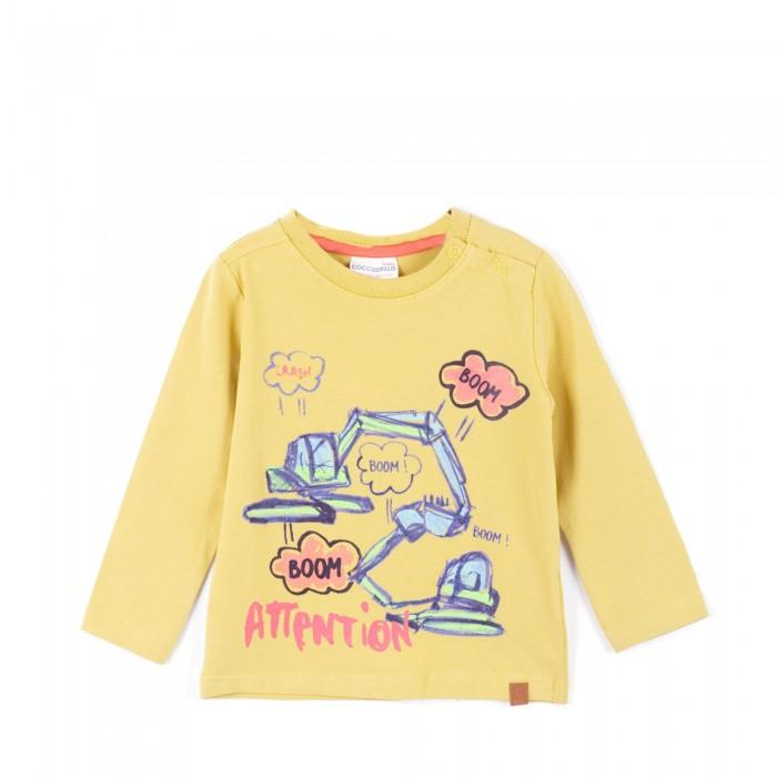 Детская одежда , Водолазки и лонгсливы Coccodrillo Лонгслив Crash Z16143101CRA арт: 376574 -  Водолазки и лонгсливы
