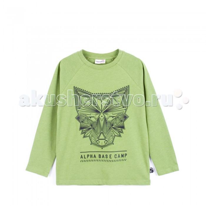 Детская одежда , Водолазки и лонгсливы Coccodrillo Лонгслив длинный рукав Be Different Z16143101BED арт: 374384 -  Водолазки и лонгсливы