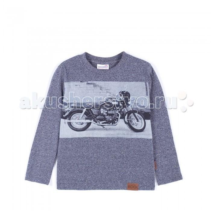 Детская одежда , Водолазки и лонгсливы Coccodrillo Лонгслив длинный рукав для мальчика Rocking Boy арт: 381119 -  Водолазки и лонгсливы