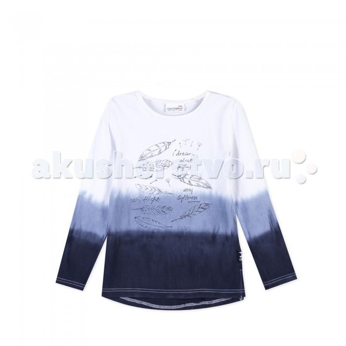 Детская одежда , Толстовки, свитшоты, худи Coccodrillo Лонгслив для девочки Wild at heart арт: 403374 -  Толстовки, свитшоты, худи