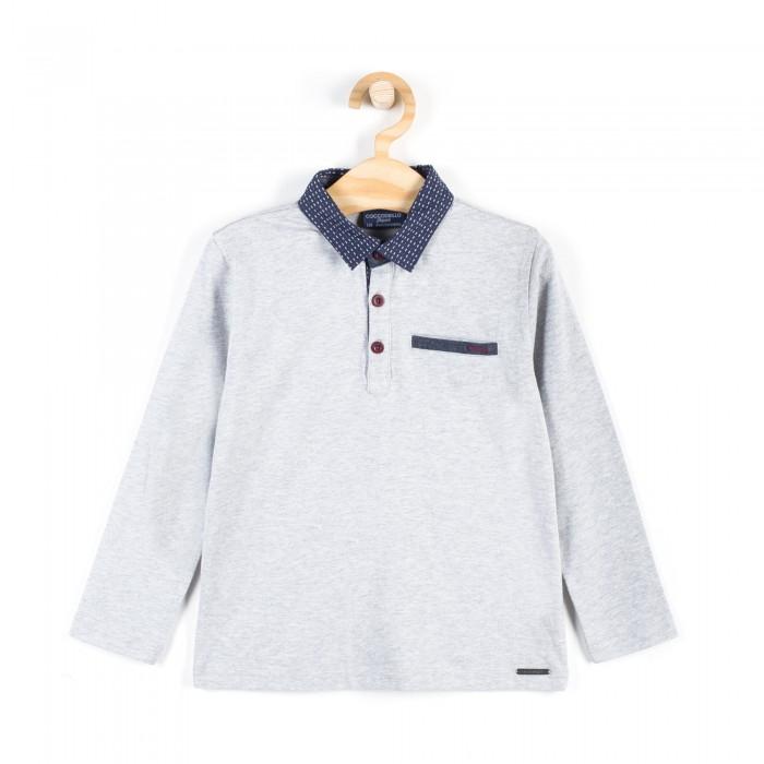 Детская одежда , Водолазки и лонгсливы Coccodrillo Лонгслив для мальчика Elegant junior boy арт: 409039 -  Водолазки и лонгсливы