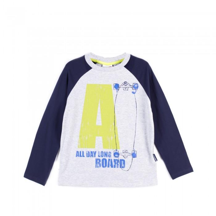 Детская одежда , Водолазки и лонгсливы Coccodrillo Лонгслив для мальчика J17143102LON Longboard арт: 403964 -  Водолазки и лонгсливы