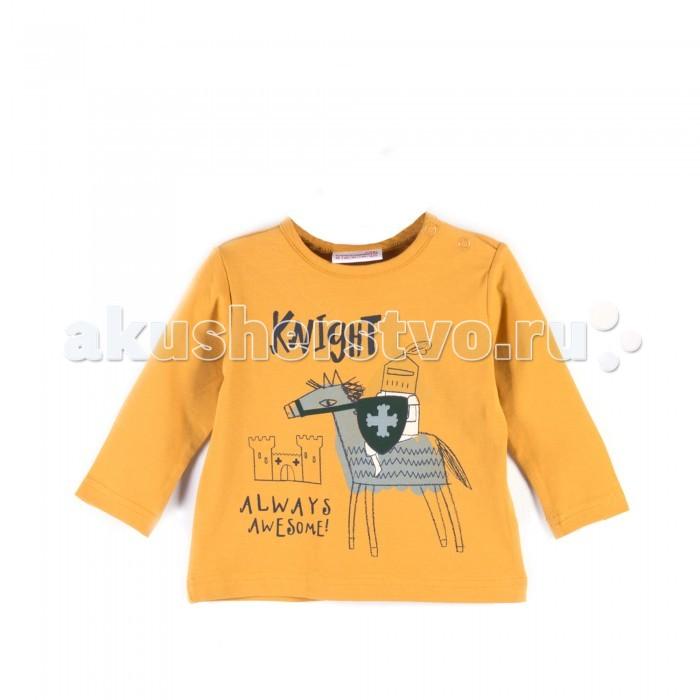 Водолазки и лонгсливы Coccodrillo Лонгслив для мальчика Knight лонгслив dzeta