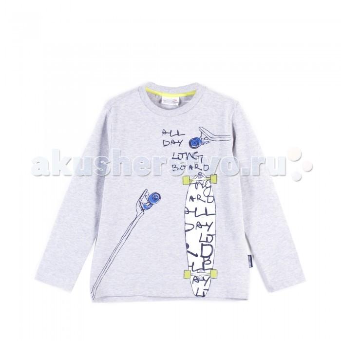 Детская одежда , Водолазки и лонгсливы Coccodrillo Лонгслив для мальчика Longboard арт: 403309 -  Водолазки и лонгсливы
