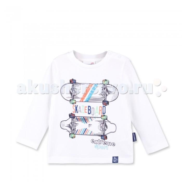 Детская одежда , Водолазки и лонгсливы Coccodrillo Лонгслив для мальчика Skate Board арт: 381659 -  Водолазки и лонгсливы