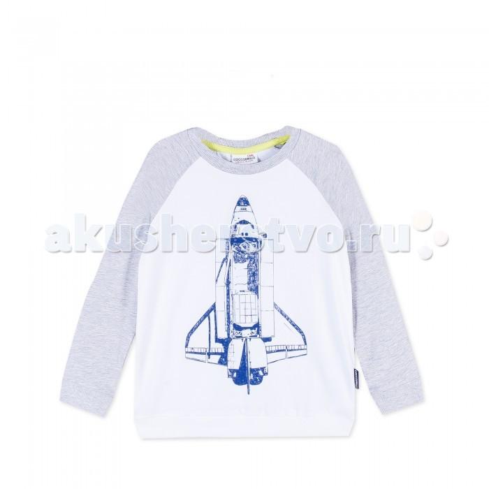 Детская одежда , Водолазки и лонгсливы Coccodrillo Лонгслив для мальчика Space арт: 404014 -  Водолазки и лонгсливы