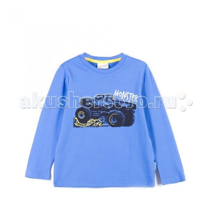 Детская одежда , Водолазки и лонгсливы Coccodrillo Лонгслив для мальчика Truck арт: 403899 -  Водолазки и лонгсливы