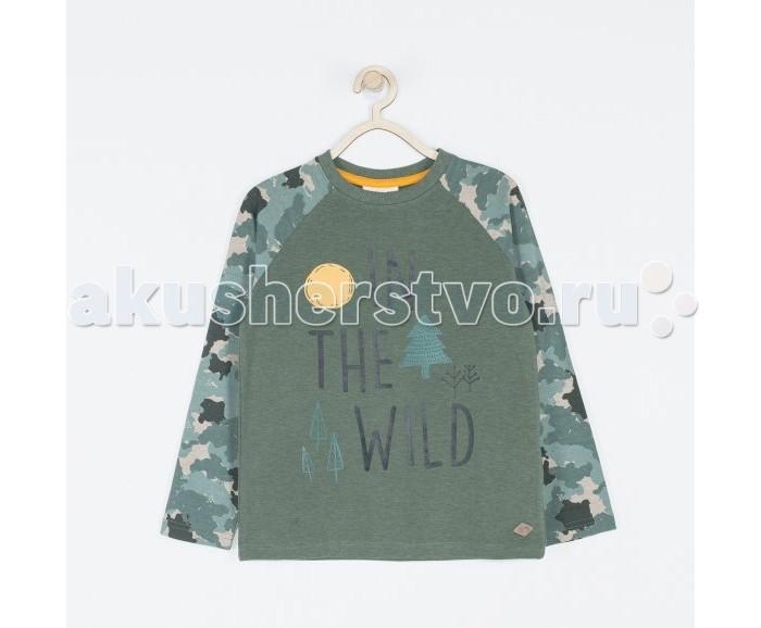 Водолазки и лонгсливы Coccodrillo Лонгслив для мальчика Wild, Водолазки и лонгсливы - артикул:589514