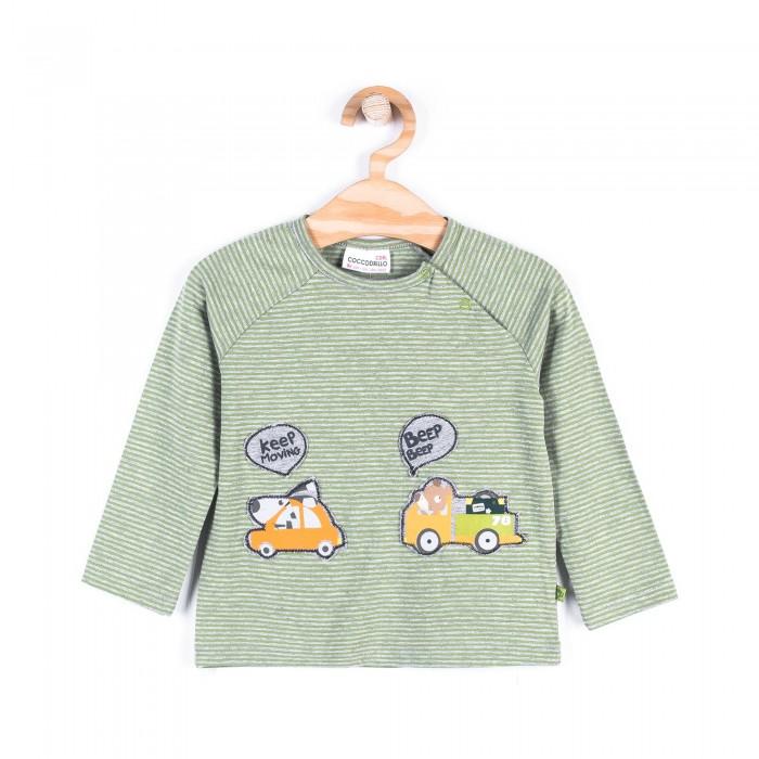 водолазки и лонгсливы coccodrillo лонгслив для мальчика stegosaurus Водолазки и лонгсливы Coccodrillo Лонгслив для мальчика Z17143101CAR Cars