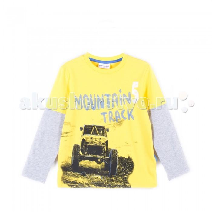 Детская одежда , Водолазки и лонгсливы Coccodrillo Лонгслив для мальчика Z17143101TRU Truck арт: 403919 -  Водолазки и лонгсливы