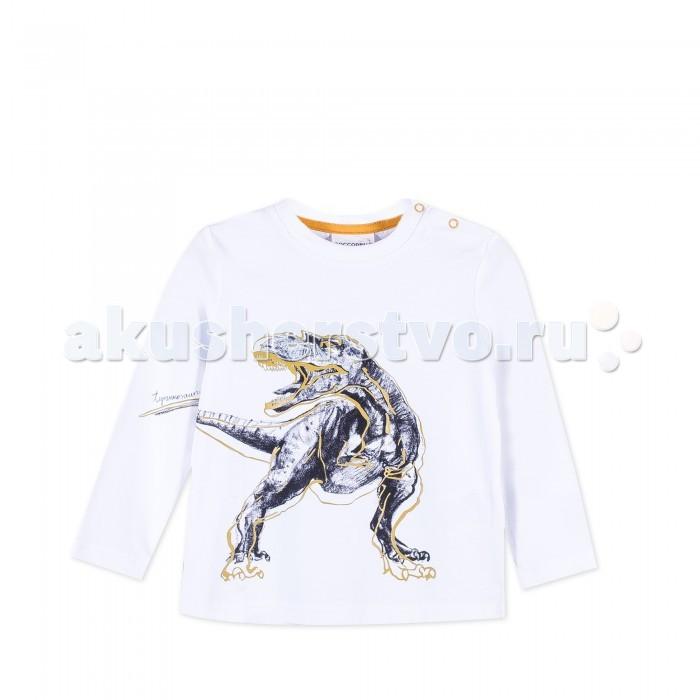 Детская одежда , Водолазки и лонгсливы Coccodrillo Лонгслив для мальчика Z171431M1STE Stegosaurus арт: 403879 -  Водолазки и лонгсливы