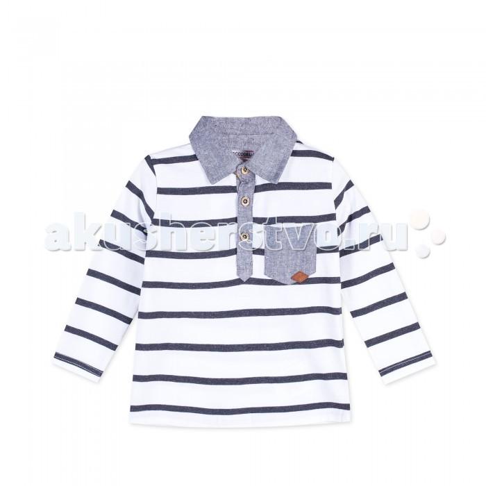 Детская одежда , Водолазки и лонгсливы Coccodrillo Лонгслив для мальчика Z17143501BOO Boo арт: 403329 -  Водолазки и лонгсливы