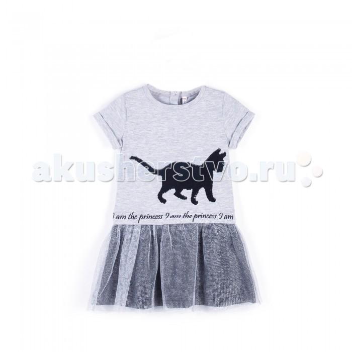 Детские платья и сарафаны Coccodrillo Платье Cute Cat платье madeleine thompson платья и сарафаны мини короткие