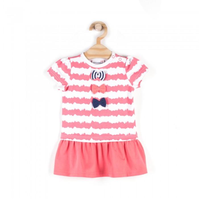 Детские платья и сарафаны Coccodrillo Платье для девочки Coral Reef L18129202COR, Детские платья и сарафаны - артикул:509556