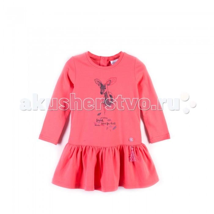 Детская одежда , Детские платья и сарафаны Coccodrillo Платье для девочки Forest heart арт: 399319 -  Детские платья и сарафаны