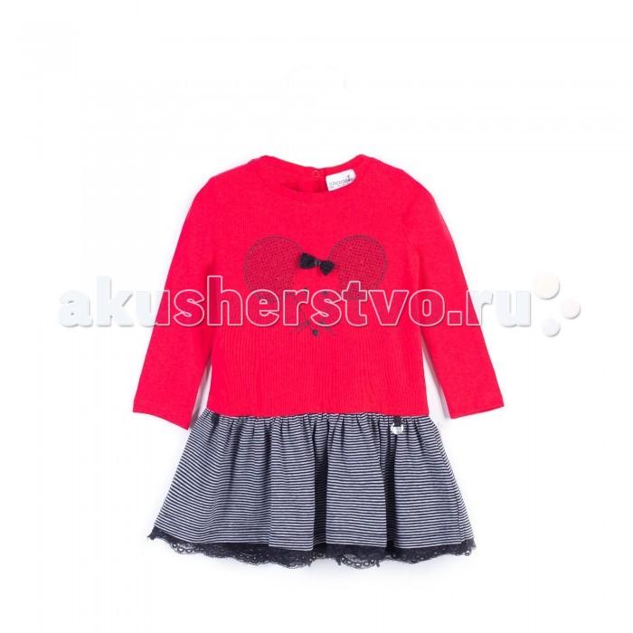 Детские платья и сарафаны Coccodrillo Платье для девочки Mouse брюки джинсы и штанишки coccodrillo леггинсы для девочки mouse j17122602mou 009