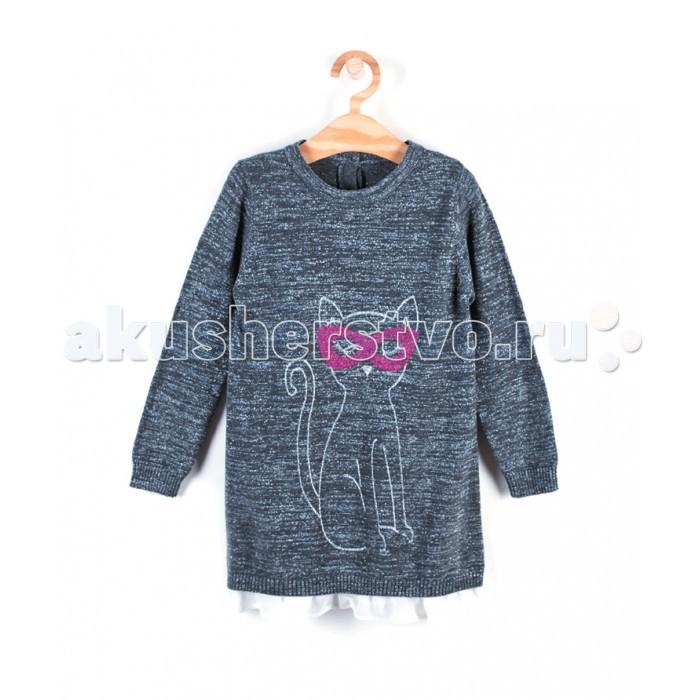 Детская одежда , Детские платья и сарафаны Coccodrillo Платье для девочки Super girl арт: 407959 -  Детские платья и сарафаны