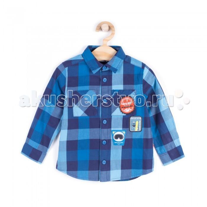 Детская одежда , Блузки и рубашки Coccodrillo Рубашка для мальчика Board king арт: 408004 -  Блузки и рубашки