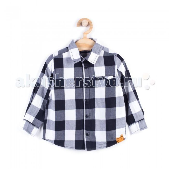 Детская одежда , Блузки и рубашки Coccodrillo Рубашка для мальчика Boo арт: 408019 -  Блузки и рубашки