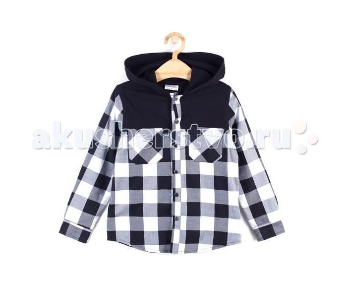 Детская одежда , Блузки и рубашки Coccodrillo Рубашка для мальчика Noise арт: 399374 -  Блузки и рубашки