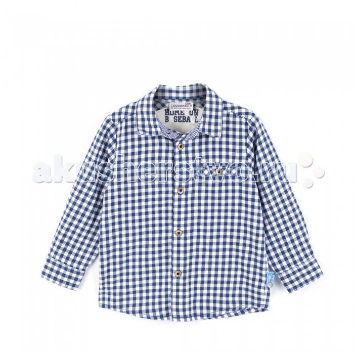 Детская одежда , Блузки и рубашки Coccodrillo Рубашка для мальчика Run арт: 381519 -  Блузки и рубашки