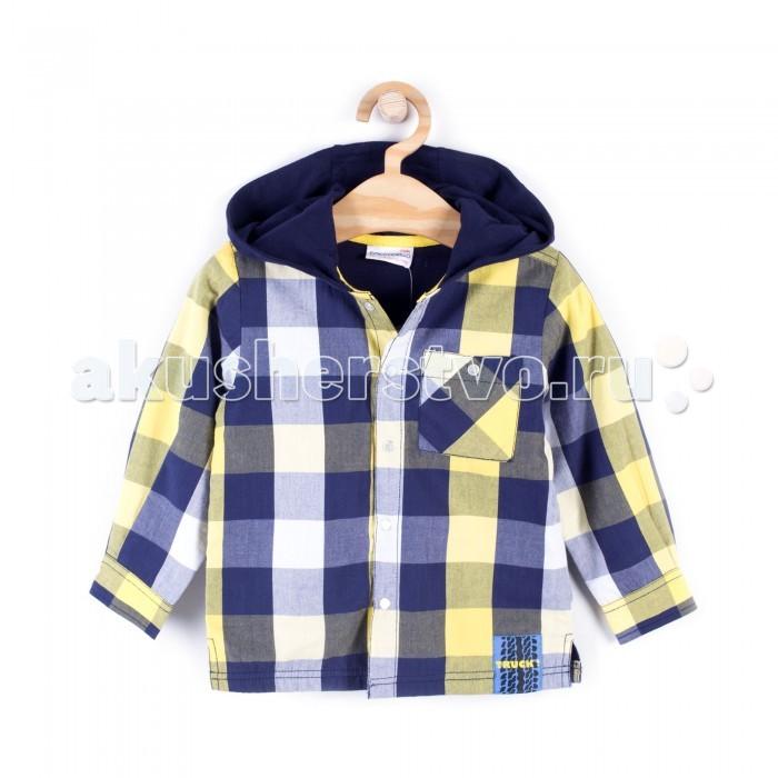 Детская одежда , Блузки и рубашки Coccodrillo Рубашка для мальчика Truck арт: 408259 -  Блузки и рубашки
