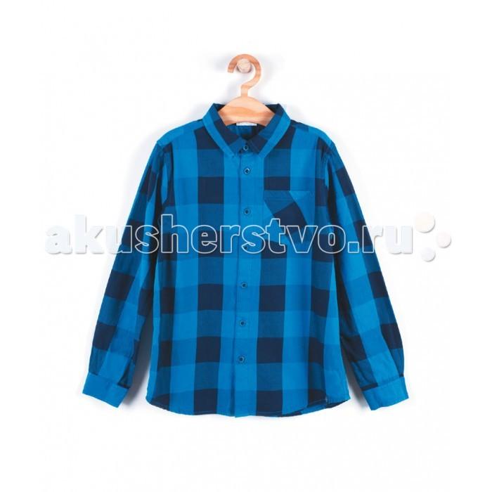 Детская одежда , Блузки и рубашки Coccodrillo Рубашка для мальчика Athletics арт: 407989 -  Блузки и рубашки