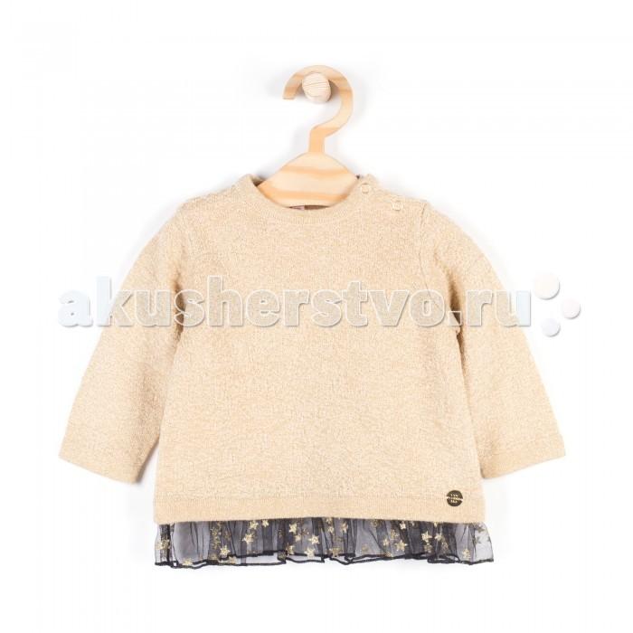 Детская одежда , Джемперы, свитера, пуловеры Coccodrillo Свитер для девочки Elegant baby girl арт: 408279 -  Джемперы, свитера, пуловеры