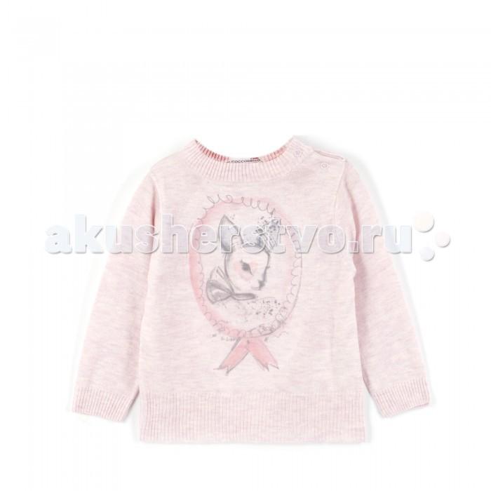 Детская одежда , Джемперы, свитера, пуловеры Coccodrillo Свитер для девочки Make a wish арт: 380374 -  Джемперы, свитера, пуловеры