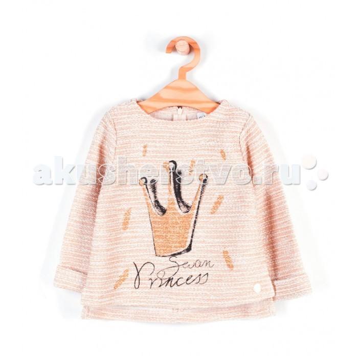 Детская одежда , Джемперы, свитера, пуловеры Coccodrillo Свитер для девочки Swan princess арт: 408509 -  Джемперы, свитера, пуловеры