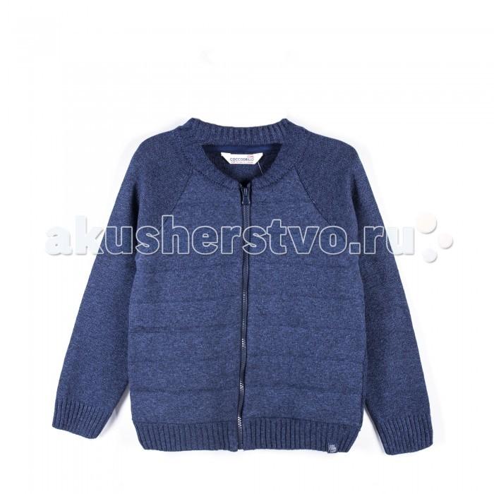Детская одежда , Джемперы, свитера, пуловеры Coccodrillo Свитер для мальчика Athletics арт: 399514 -  Джемперы, свитера, пуловеры