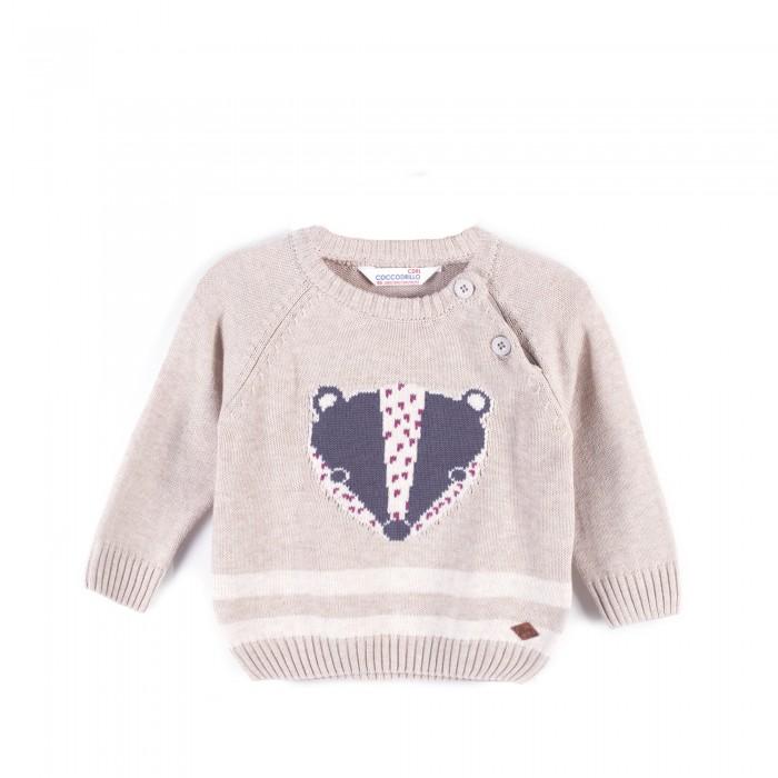 Детская одежда , Джемперы, свитера, пуловеры Coccodrillo Свитер для мальчика Up all night арт: 402494 -  Джемперы, свитера, пуловеры