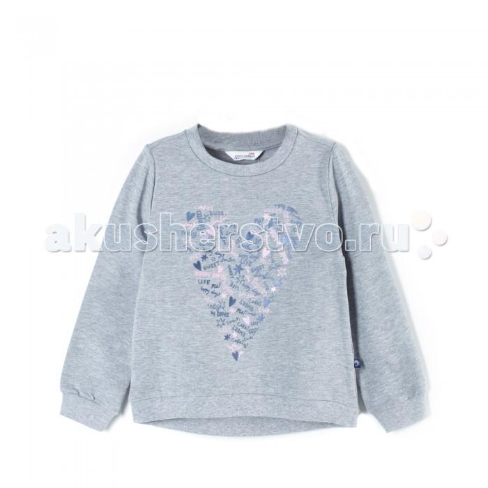 Детская одежда , Толстовки, свитшоты, худи Coccodrillo Свитшот для девочки Basic Girl J17132102BAG-019 арт: 410434 -  Толстовки, свитшоты, худи