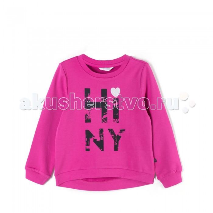 Детская одежда , Толстовки, свитшоты, худи Coccodrillo Свитшот для девочки Basic Girl арт: 410424 -  Толстовки, свитшоты, худи