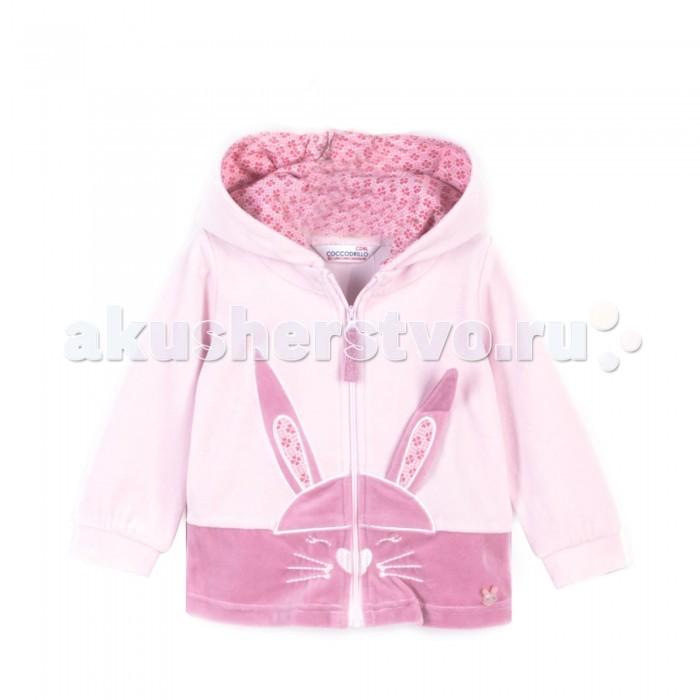 Детская одежда , Толстовки, свитшоты, худи Coccodrillo Свитшот для девочки Bunny арт: 410479 -  Толстовки, свитшоты, худи